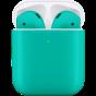 Цветные Apple AirPods 2 (беспроводная зарядка чехла)