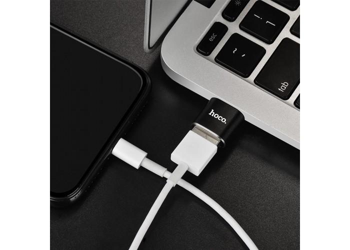 Переходник Hoco UA5 Type-C Transfer USB Convertor