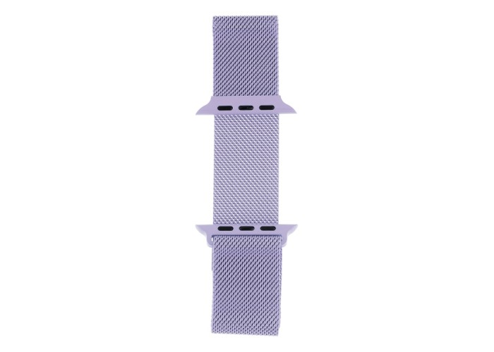 Браслет миланский сетчатый для Apple Watch 38/40 мм, светло-сиреневый цвет