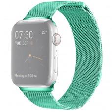 Браслет миланский сетчатый для Apple Watch 38/40 мм, мятный цвет