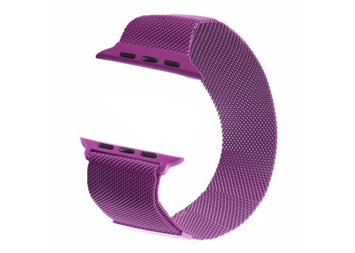 Браслет миланский сетчатый для Apple Watch 38/40 мм, сиреневый цвет