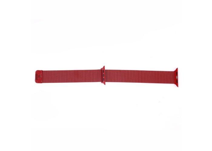 Браслет миланский сетчатый для Apple Watch 38/40 мм, красный цвет