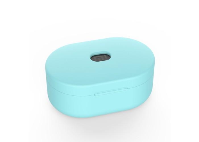 Чехол силиконовый для Redmi AirDots, мятный цвет