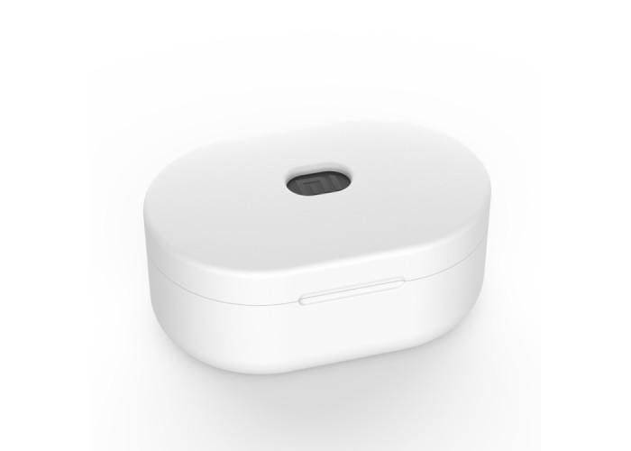 Чехол силиконовый для Redmi AirDots, белый цвет