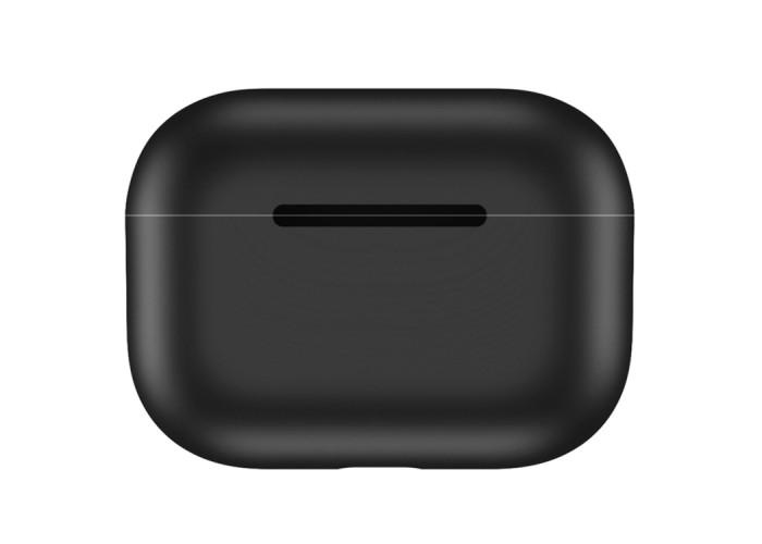 Чехол силиконовый для AirPods Pro, чёрный цвет