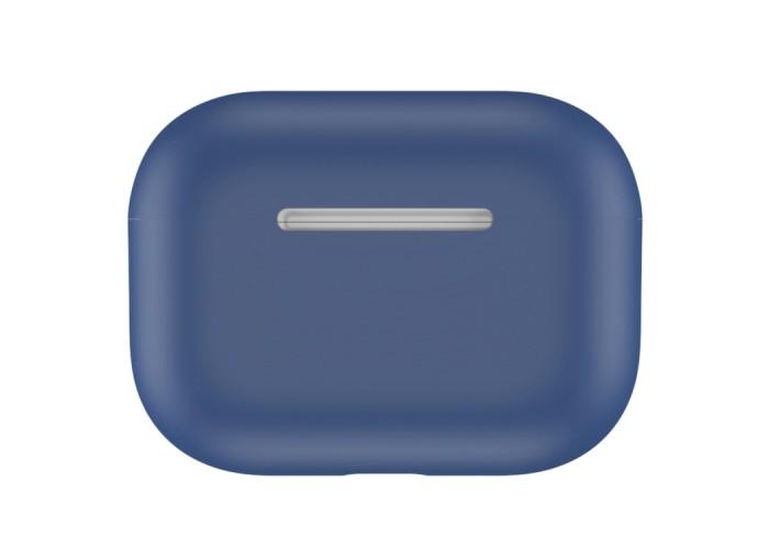 Чехол силиконовый для AirPods Pro, синий цвет