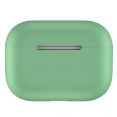 Чехол силиконовый для AirPods Pro, зелёный цвет