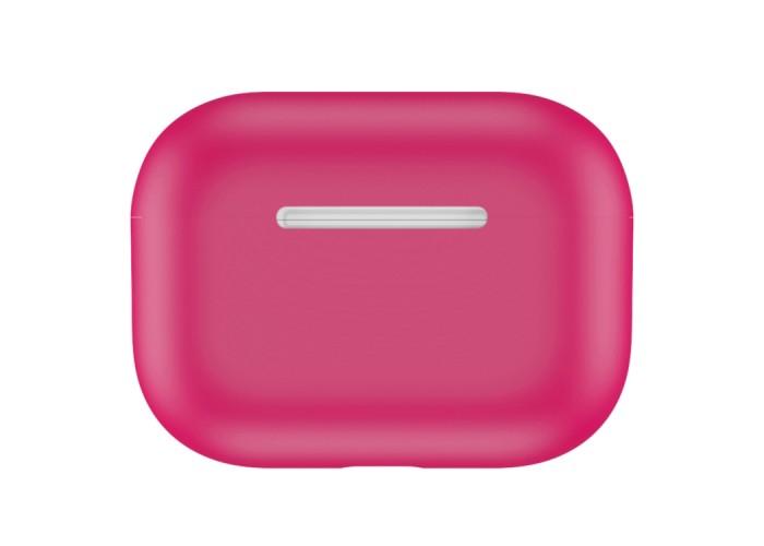 Чехол силиконовый для AirPods Pro, цвет маджента