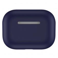 Чехол силиконовый для AirPods Pro, полуночный синий цвет
