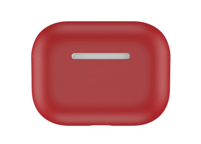 Чехол силиконовый для AirPods Pro, красный цвет