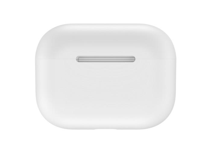 Чехол силиконовый для AirPods Pro, белый цвет
