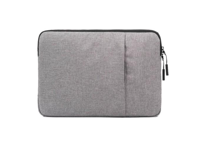 Чехол Pofoko для ноутбука 15 дюймов, серый цвет