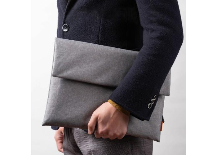Чехол-папка Pofoko для ноутбука 13 дюймов, серый цвет