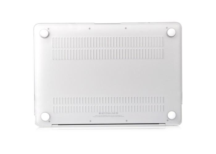 Чехол-накладка для MacBook Air 13 дюймов (модели 2018 года и новее), белый цвет
