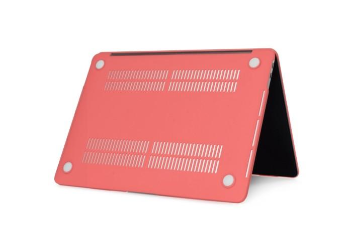 Чехол-накладка для MacBook Pro 13 дюймов (модели 2016 года и новее), коралловый цвет