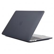 Чехол-накладка для MacBook Pro 16 дюймов (модель 2019 года), чёрный цвет
