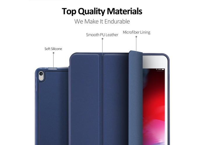 Чехол Dux Ducis Osom Series для iPad 2017/2018, синий цвет