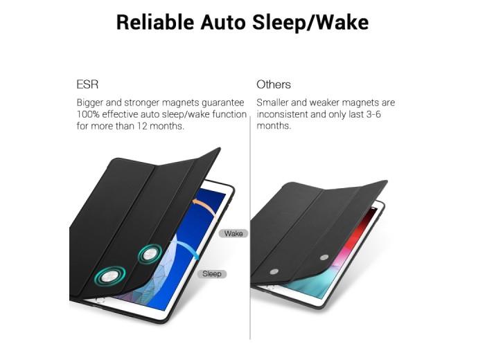 Чехол ESR Rebound для iPad Air 2019, чёрный цвет