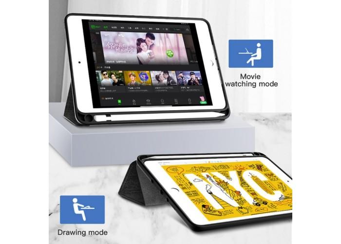 Чехол Totudesign Curtain Series для iPad Air 2019, чёрный цвет