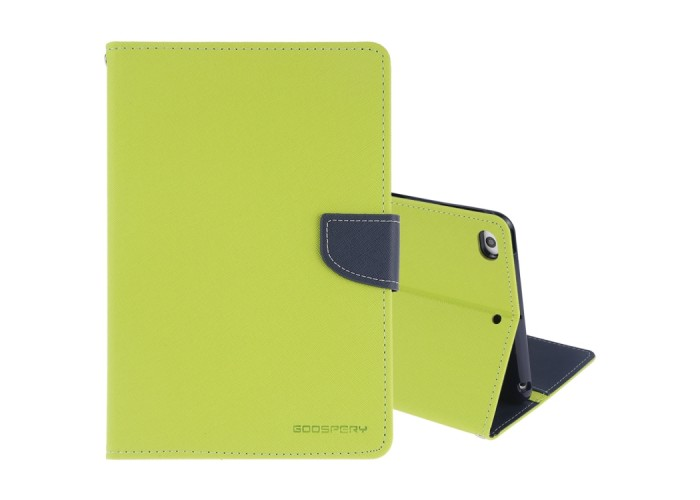 Чехол Mercury Goospery Fancy Diary Case для iPad mini 2019, салатовый цвет