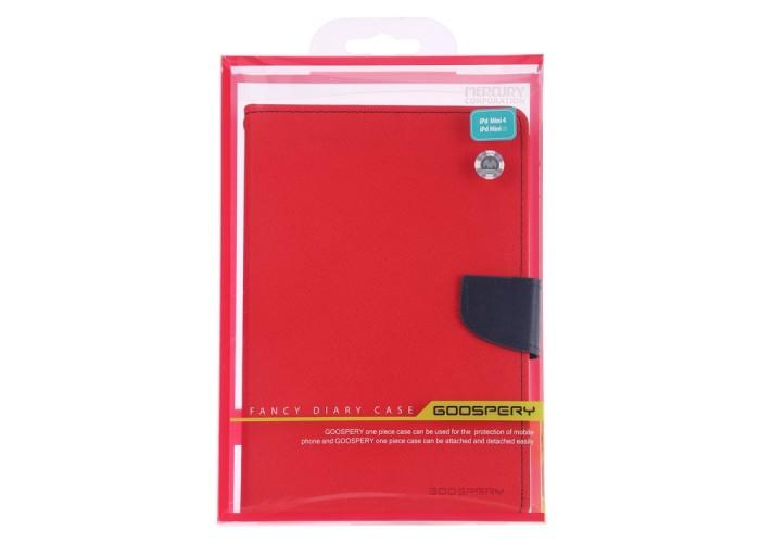 Чехол Mercury Goospery Fancy Diary Case для iPad mini 2019, красный цвет