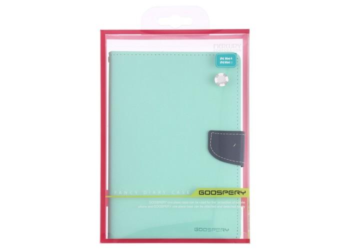 Чехол Mercury Goospery Fancy Diary Case для iPad mini 2019, бирюзовый цвет