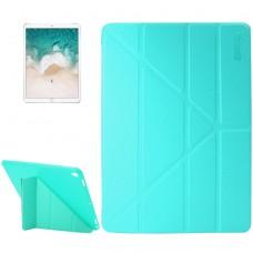 Чехол Enkay Lambskin Y-Type для iPad Pro 10,5 дюйма, бирюзовый цвет