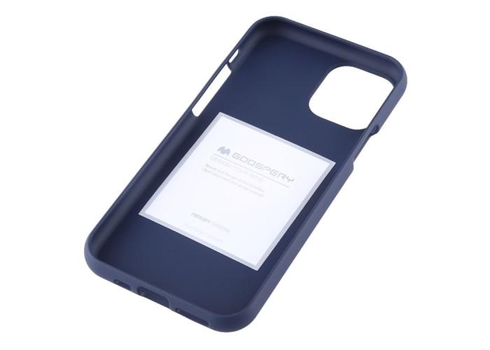 Чехол Mercury Goospery Soft Feeling для iPhone 11 Pro, тёмно-синий цвет