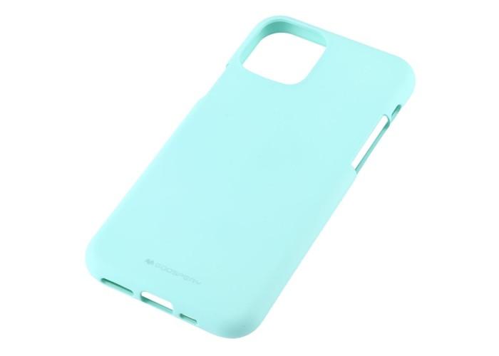 Чехол Mercury Goospery Soft Feeling для iPhone 11 Pro, мятный цвет