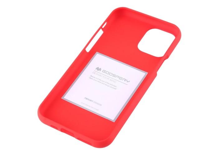 Чехол Mercury Goospery Soft Feeling для iPhone 11 Pro Max, красный цвет