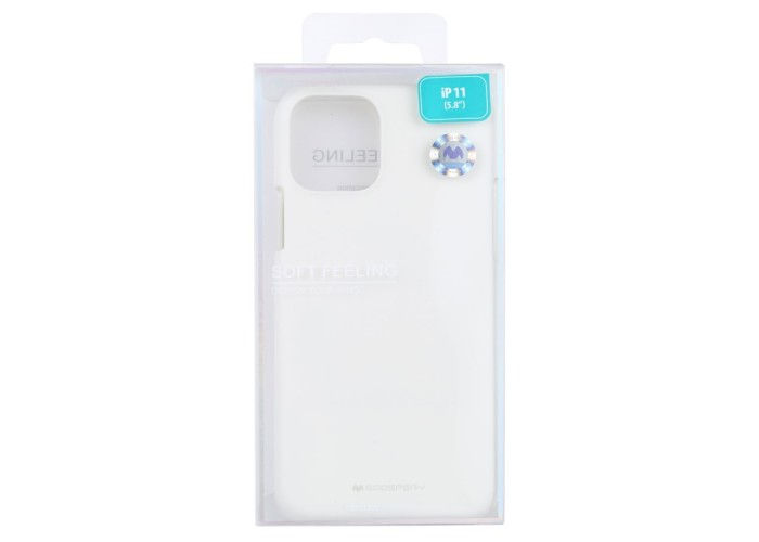 Чехол Mercury Goospery Soft Feeling для iPhone 11 Pro, белый цвет