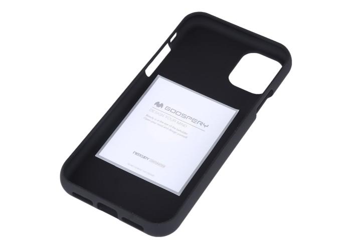 Чехол Mercury Goospery Soft Feeling для iPhone 11, чёрный цвет