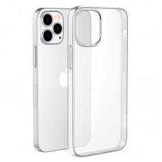 Чехол-накладка Hoco Light для iPhone 12 Pro Max, прозрачный