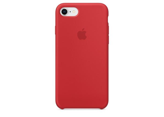 Чехол силиконовый Silicone Case для iPhone 7/8, (PRODUCT)RED