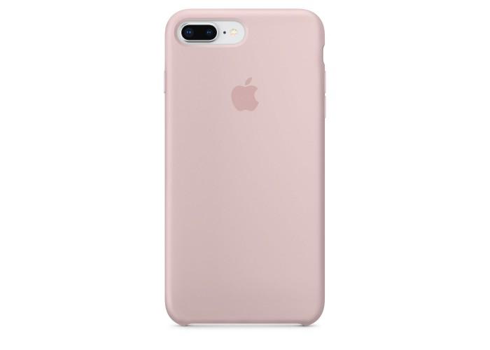 Чехол силиконовый Silicone Case для iPhone 7 Plus/8 Plus, цвет «розовый песок»
