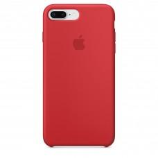 Чехол силиконовый Silicone Case для iPhone 7 Plus/8 Plus, (PRODUCT)RED