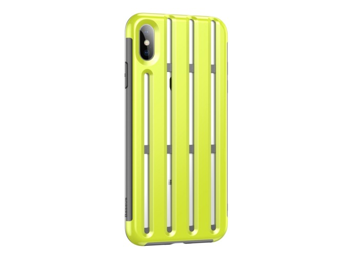 Чехол Baseus Cycling Helmet Case для iPhone XS Max, салатовый цвет