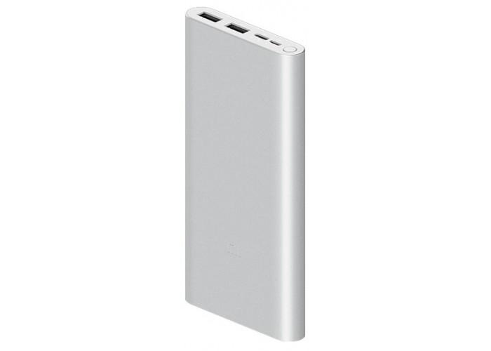 Внешний аккумулятор Xiaomi Mi Power Bank 3 10000mAh, серебристый цвет