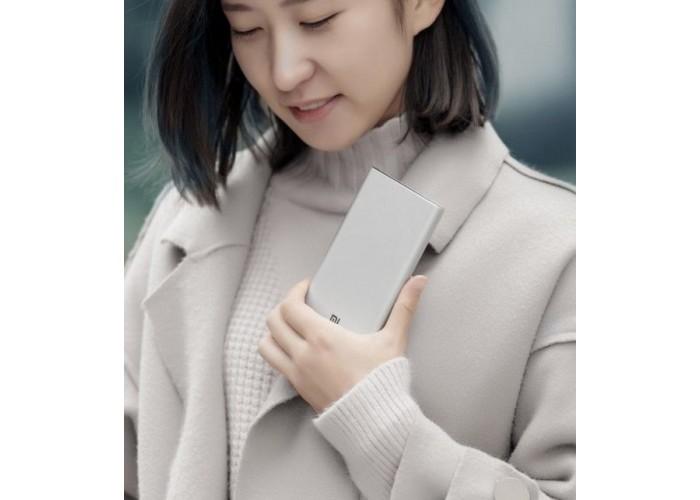 Внешний аккумулятор Xiaomi Mi Power Bank 3 10000mAh (PLM12ZM) серебристый
