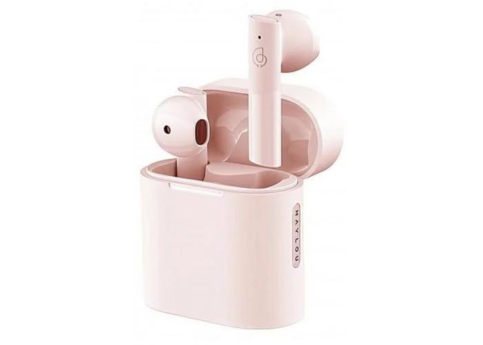 Беспроводные наушники Haylou MoriPods, розовый