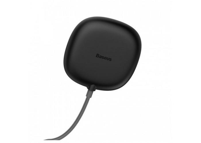 Беспроводная сетевая зарядка Baseus Suction Cup Wireless Charger, чёрный цвет