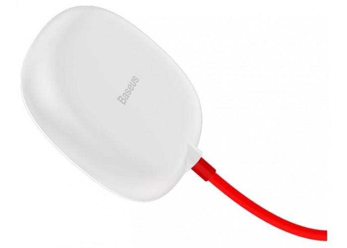 Беспроводная сетевая зарядка Baseus Suction Cup Wireless Charger, белый цвет