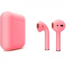 Apple AirPods 2 Color (без беспроводной зарядки чехла), матовый розовый цвет