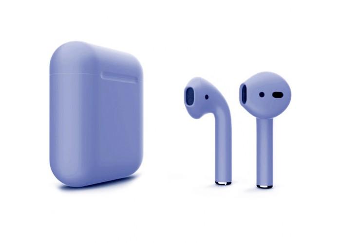 Apple AirPods 2 Color (беспроводная зарядка чехла), матовый фиолетовый цвет