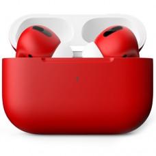 Apple AirPods Pro Color, матовый красный цвет