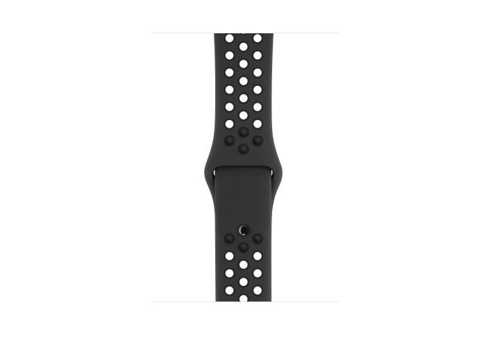 Apple Watch Nike+ Series 3 GPS, 42 мм, алюминий цвета «серый космос», спортивный ремешок Nike «антрацитовый/чёрный»