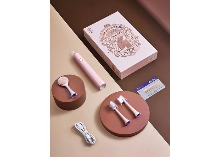 Электрическая зубная щетка Soocas X3U Set, розовый