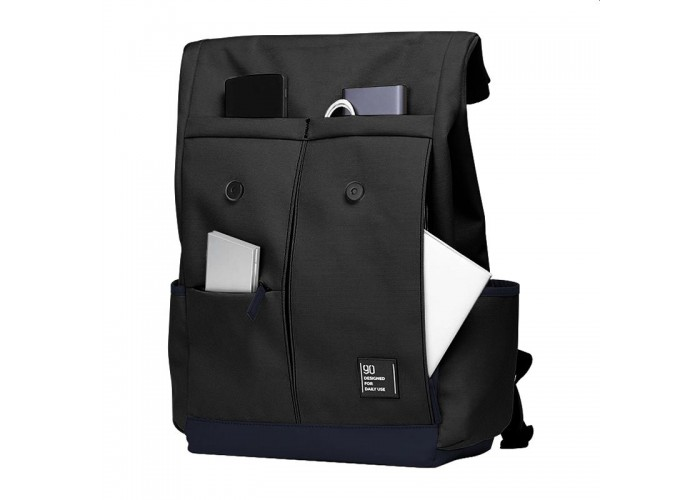 Городской рюкзак Xiaomi 90 Points Vibrant College Casual Backpack, чёрный