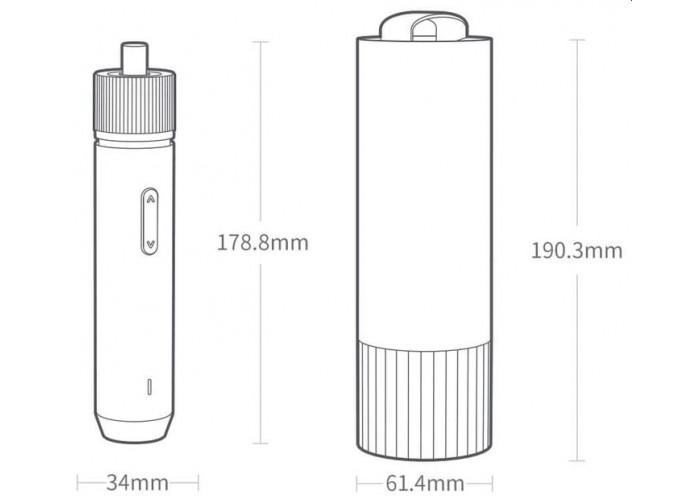 Аккумуляторная отвертка Xiaomi HOTO Straight Handle Electric Screwdriver