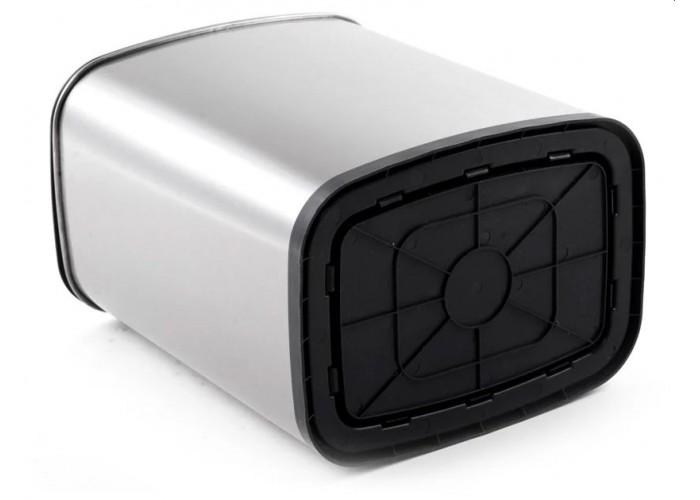 Мусорное ведро Xiaomi Ninestars Stainless Steel Sensor Trash Can, 12 л, серебристый